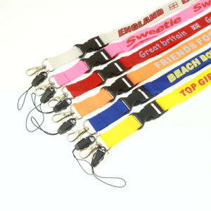 Hot Sell Printed Cheap safety Buckle Neck Lanyard pictures & photos