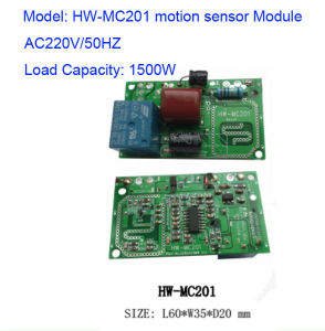 1500W Microwave Sensor Detection Module Hw-Mc201 Directly Connected MCU pictures & photos