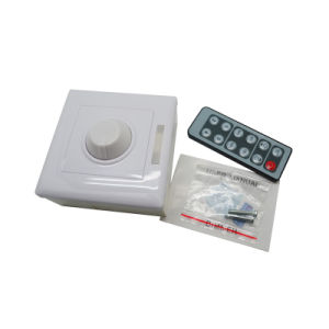 IR 12 Key Remote Controller for Single Color LED Strips pictures & photos
