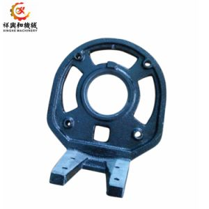 OEM Qingdao Iron Sand Casting Stove Parts with Sand Blasting pictures & photos