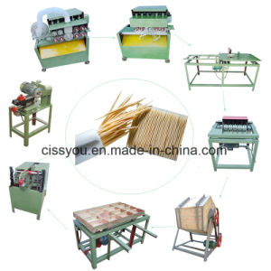 Factory China Bamboo Toothpick Stick Chopsticks Making Maker Machine pictures & photos