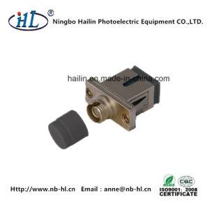Sc-FC/mm Fiber Optic Hybird Adapter Use Pei Matal pictures & photos