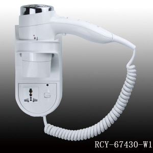 Hotel Appliances, Hair Drier, High Quality ABS Plastic Wall-Mounted Hair Dryer for Bathroom Use pictures & photos