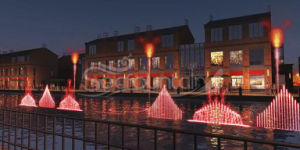 Lake Colorful Multimedia Music Dancing Fountain pictures & photos