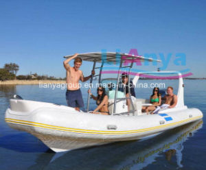 Liya 6.6m China Rigid Inflatable Fishing Boats with Motor pictures & photos