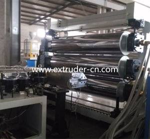 PVC Plastic Free Foam Board/Plate Extrusion Line pictures & photos