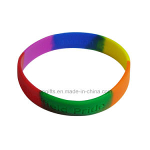 Low Price Silicone Wrist Band Rubber Silicon Bracelet pictures & photos