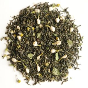 Green Tea with Mint and Jasmine Flavor pictures & photos