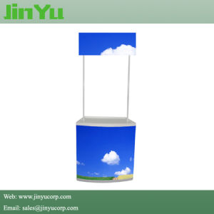 High Quality Portable Plastic Promotion Counter pictures & photos