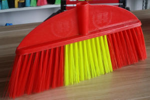 Home Using Plastic Broom with Soft Bristle, Kc332