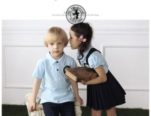 High Quality Cute Kindergarten School Uniform pictures & photos