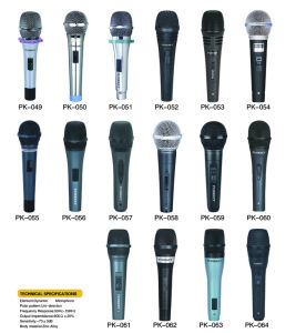 Handheld Wired Condenser Microphone for K Song 2017 New Design pictures & photos
