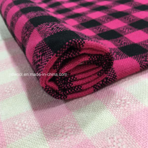 DOT in Check Wool Fabric Ready Stock pictures & photos