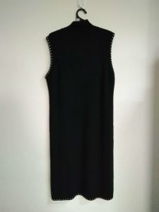 Trj014, 100%Cashmere, Women&Lady, Black, Good Quality, Dress pictures & photos