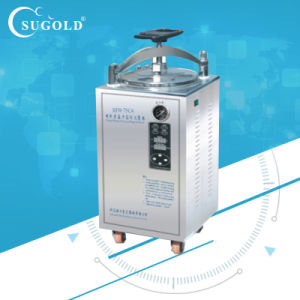 Satinlesss steel 50L Vertical Autoclave for Steam Sterilization pictures & photos