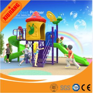 Hot Sell Plastic Outdoor Playground Equipment for Kids pictures & photos