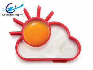 Kids DIY Creative Cute Sun Cloud Silicone Fried Egg Mould