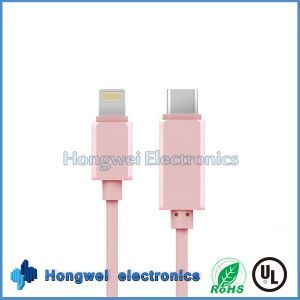 Best USB 3.1 Type C to MacBook and iPad ISO8 Charging USB Cable pictures & photos