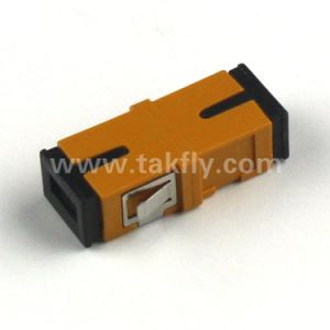 RoHS Compliant FTTH 0.15dB Sc Fiber Optic Adapter pictures & photos
