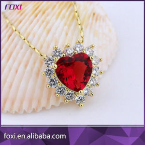 Best Price Heart Shape Design Pendant Chain Necklace pictures & photos