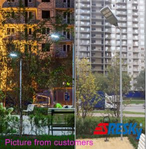 Ce RoHS Approved Aluminum Housing Lighting Solar LED Street Lam pictures & photos