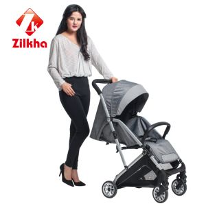 Gray Color Style Baby Carriage-Car with Frame and Regular Seat pictures & photos