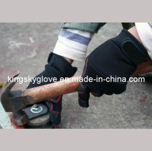 Gloves/Work Glove/Synthetic Leather Glove/Micro Fiber Glove/Safety Glove/Mechanic Glove/Labor Glove pictures & photos