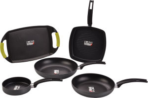 Ilag 2-Layers Coating Nonstick Aluminum Pans Set
