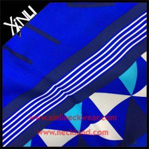 Fashion Designer Long Custom Scarf Printing 100% Silk pictures & photos