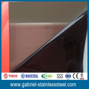 Hairline Finish Stainless Steel Sheet 201 pictures & photos