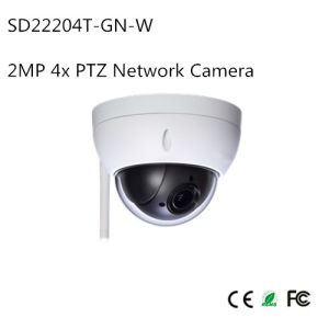 2MP 4X PTZ WiFi Network Camera (SD22204T-GN-W) pictures & photos