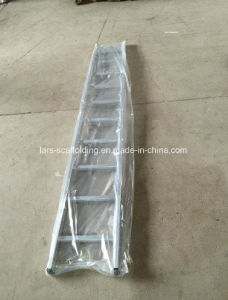 Light Weight Single Straight Ladder /Aluminum Step Ladder for Scaffold pictures & photos