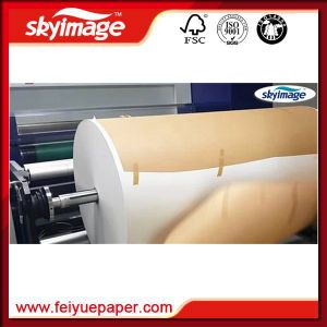 Jumbo Roll 50inch Non-Curl Fast Dry 57GSM Sublimation Transfer Paper with High Speed Printer pictures & photos