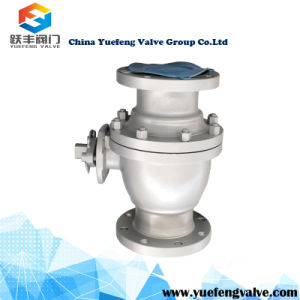 2PC Floating Wcb Flange Ball Valve pictures & photos
