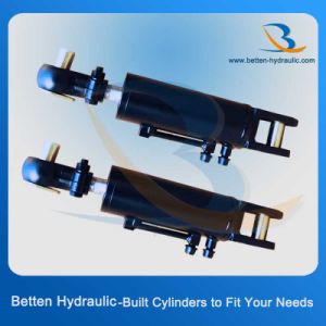 Tractor Round Hydraulic Steering Cylinder Manufacturers pictures & photos
