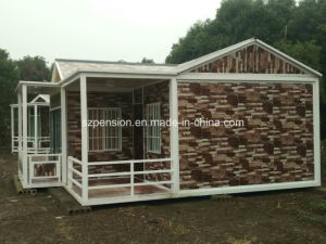 Economy Prefabricated/Prefab Mobile House/Villa in Outside pictures & photos