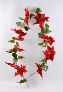 Various Color Flower Rattan of Christmas′ Decorations pictures & photos