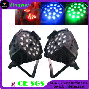 DJ 18X10W 4in1 RGBW LED PAR Zoom Stage Light pictures & photos
