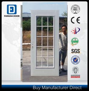 Fangda Eco Galvanized Steel Glass Door pictures & photos