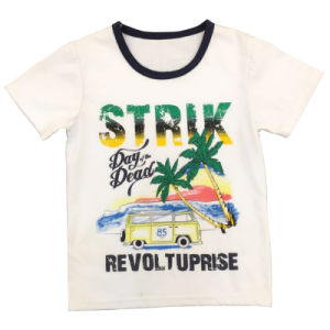Kids Fashion Cotton Print T-Shirt pictures & photos