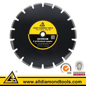 Protective Teeth Diamond Saw Blade for Asphalt and Green Concrete pictures & photos