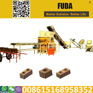 Fd4-10 Hydraulic Kenya Soil Cement Interlocking Brick Making Machine pictures & photos