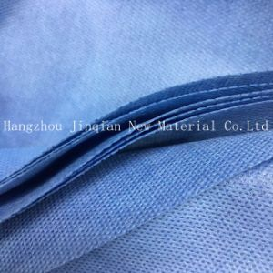 Disposable SMS Nonwoven Fabric Use for Eco-Friendly Surgical Gown pictures & photos