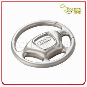 Creative Style Custom Logo Steering Wheel Metal keychain pictures & photos