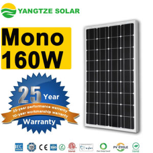 Monocrystalline 160W PV Panels Manufacturers pictures & photos