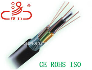 Ccommunication Cable GYTS 2-144 Core Fiber Optic Cable pictures & photos
