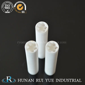 99 Al2O3 Ceramic Tube Porous Alumina Tube pictures & photos