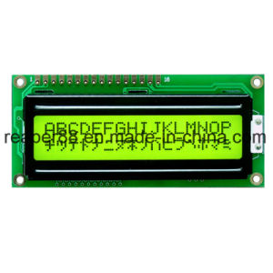 COB Type Yellow-Green 16X2 Character LCD Display pictures & photos