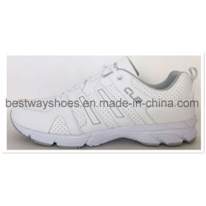 New Desgins PU Upper Soprting Shoes pictures & photos