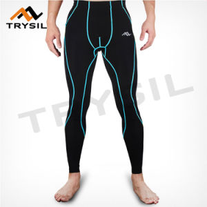 Men Wearing Leggings Clothes Sport Long Pants Sportswear